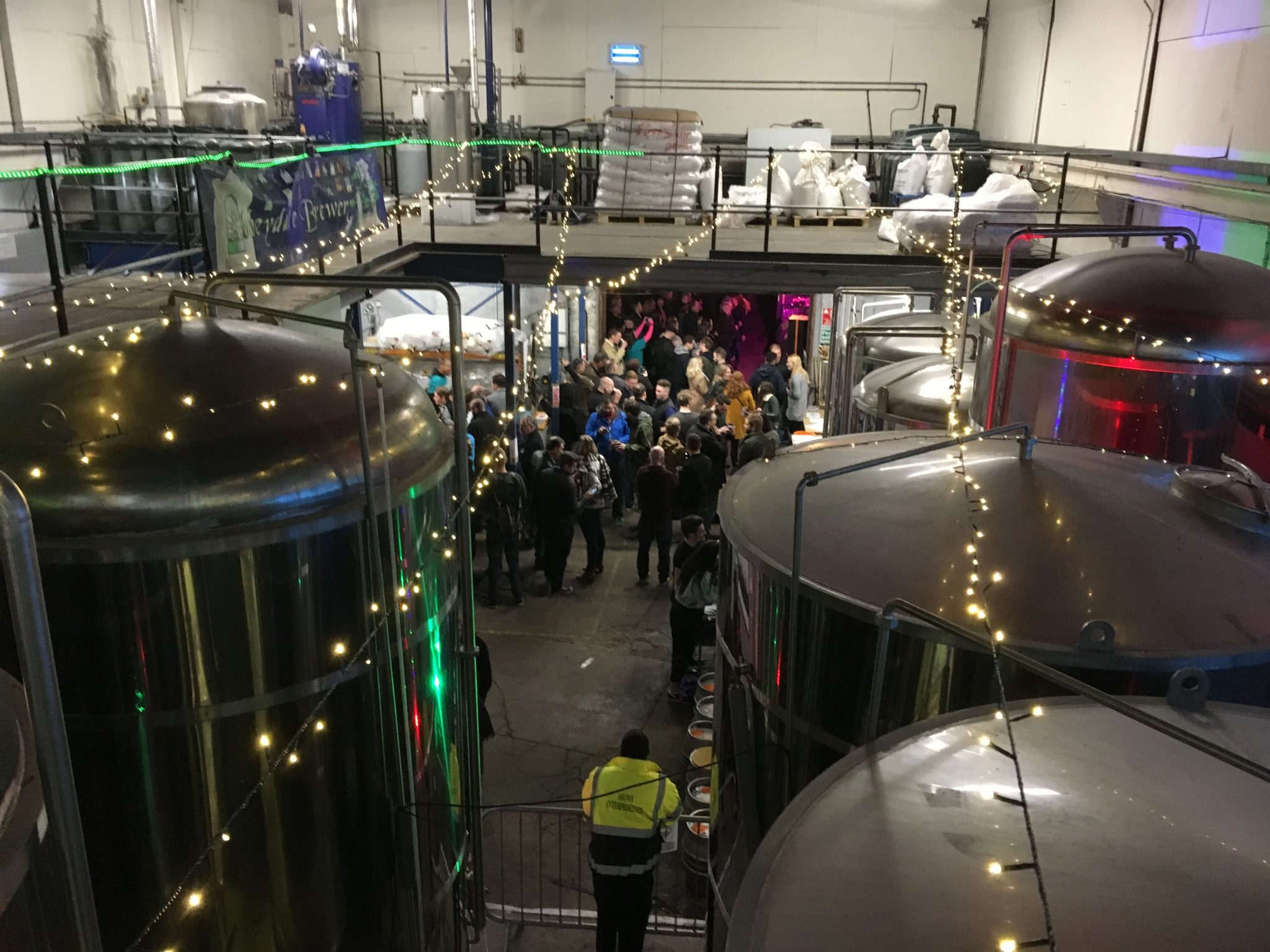Piss-Up in a Brewery