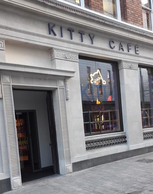 Kitty Cafe Leeds Front