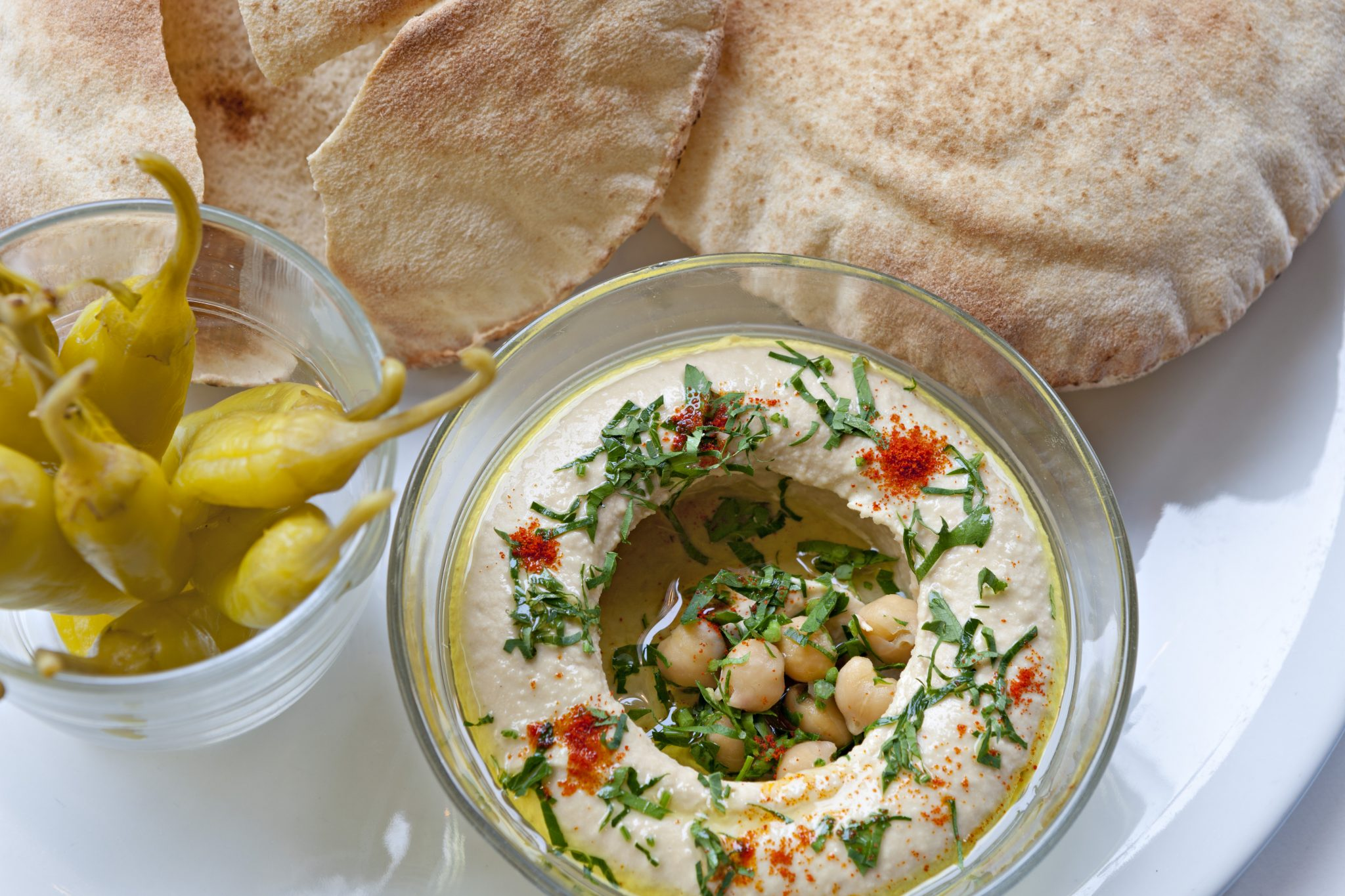 Comptoir Libanais Soho hummus