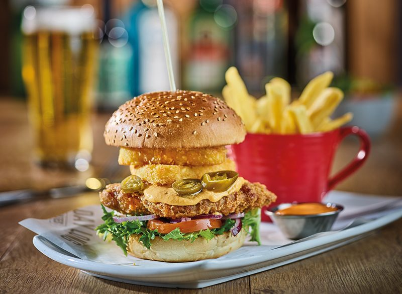 Alabama Chicken Burger 2