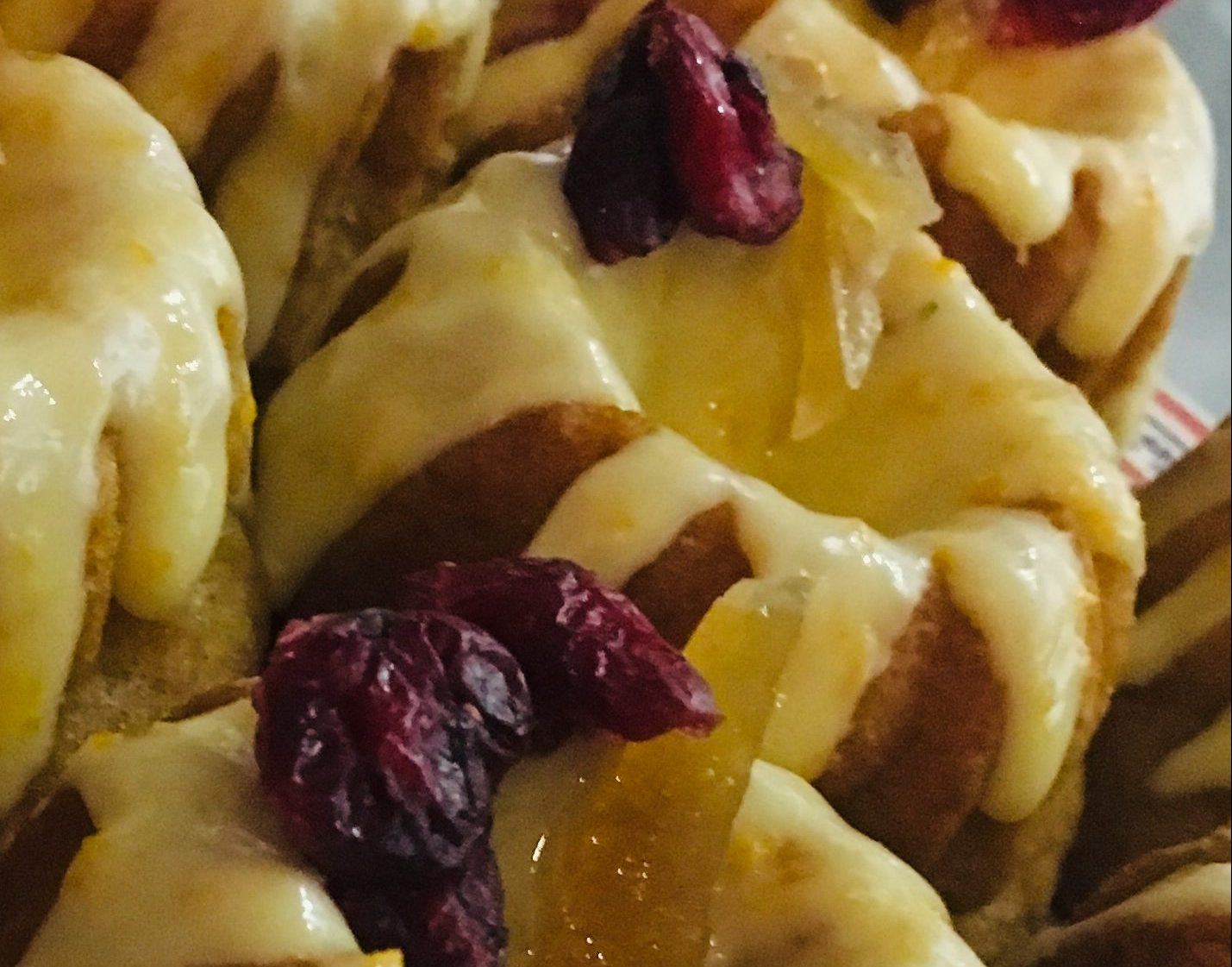 The Cranberry and Orange Bundt from Bakehouse in the Barn and Hunters of Helmsley