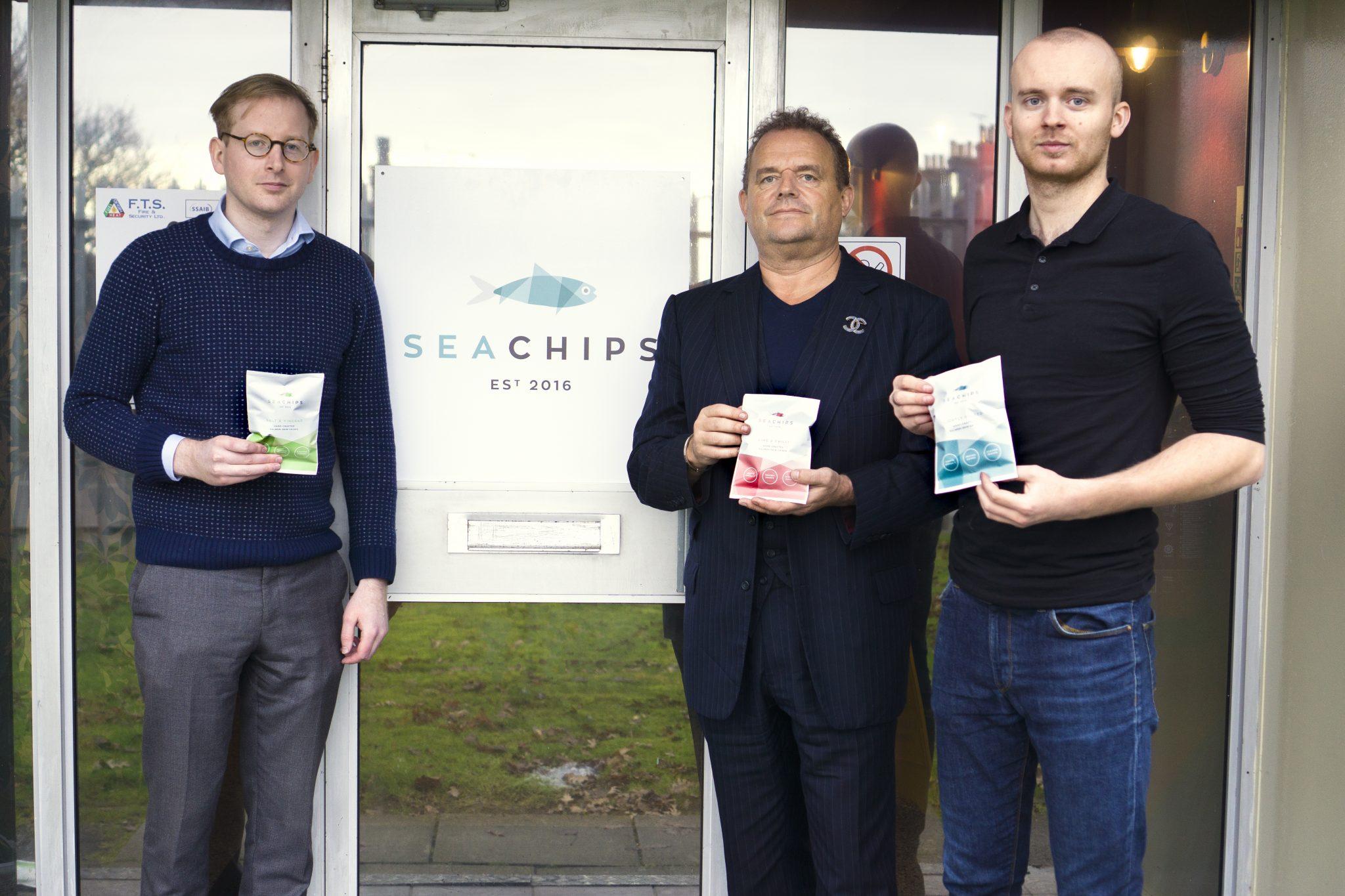 Dom Smith, Jonathan MacKnight, Daniel Pawson – Sea Chips new factory