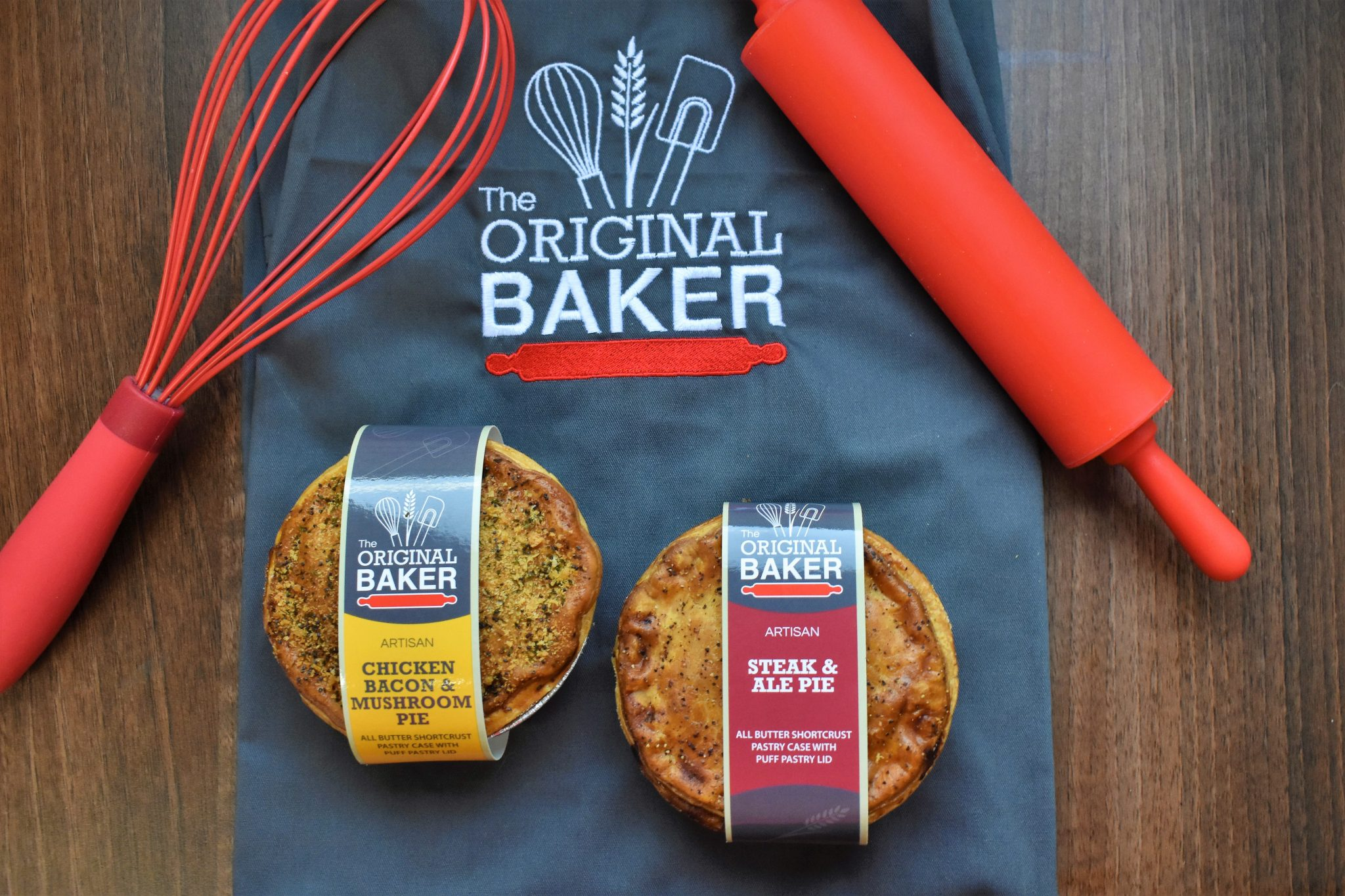The Original Baker makes a range of pies, available at Hunters of Helmsley