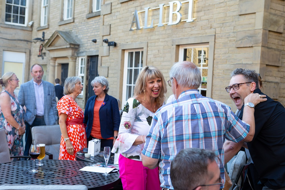 VIP guests enjoying the preview event of Alibi Bar and Restaurant, Halifax 4
