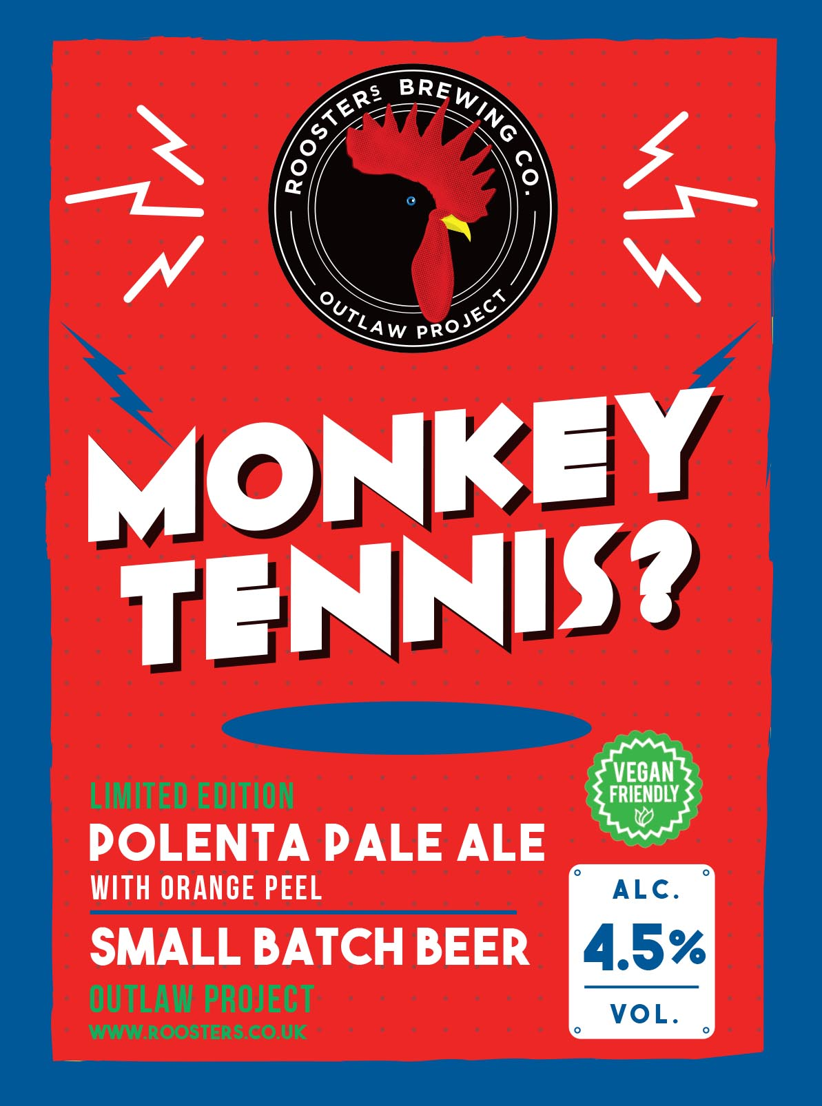 Monkey Tennis Pump Clip