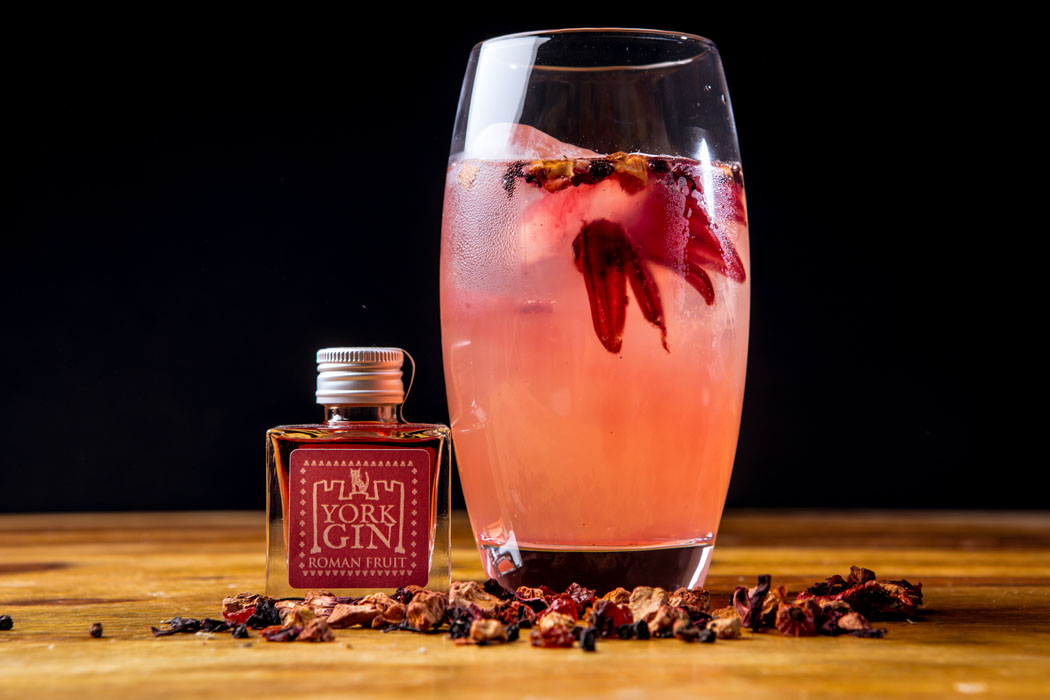 York Gin-Roman Fruit cocktail with botanicals on colour_web