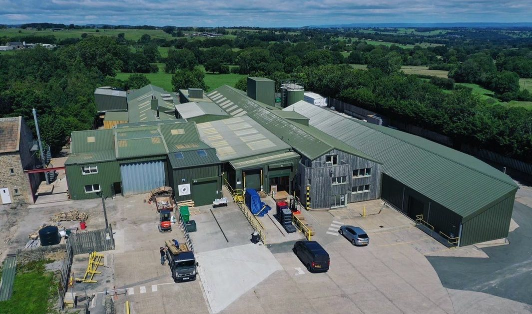Kirsty's new factory based in Harrogate that is part of a £2M investment
