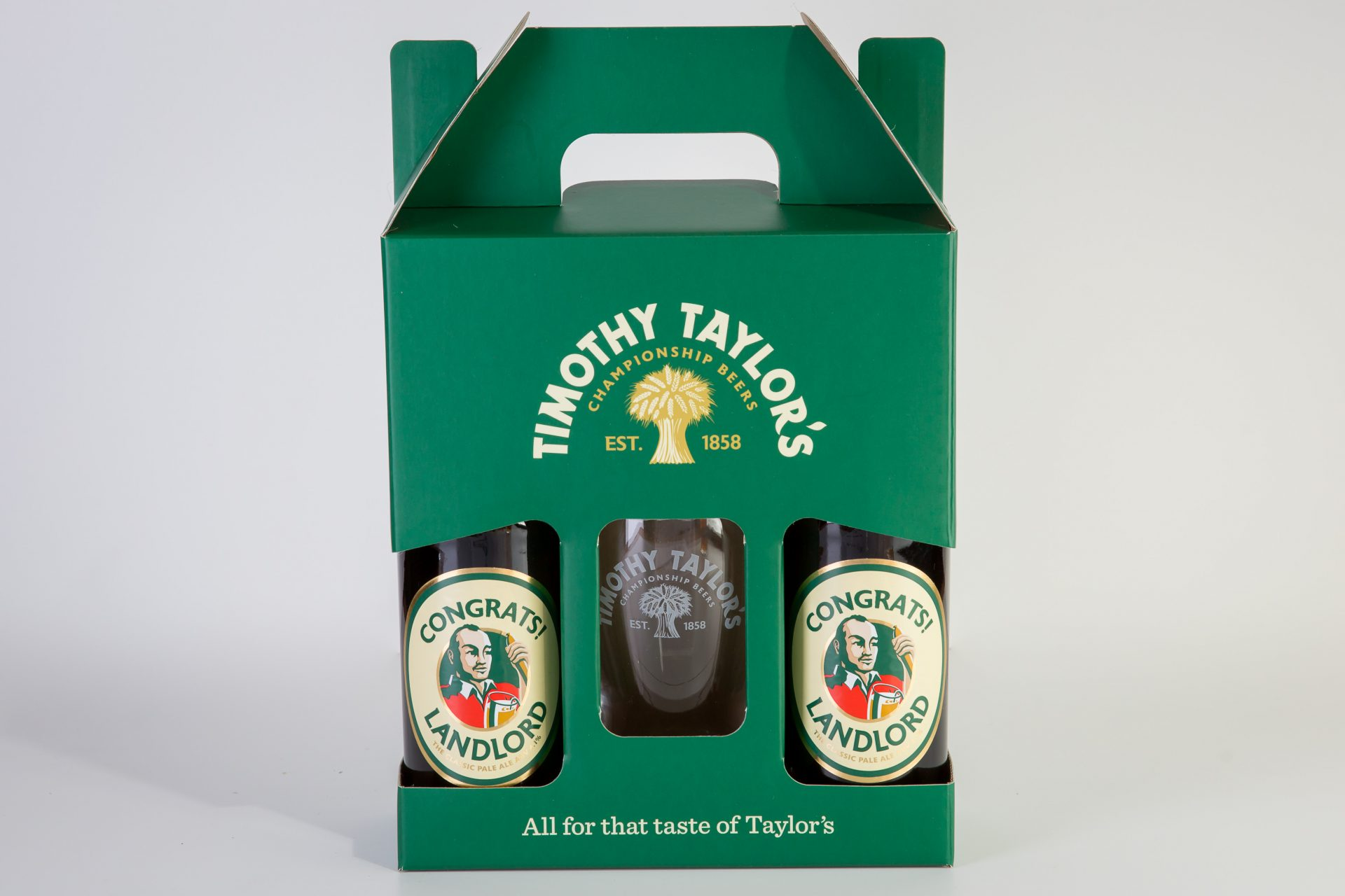 TIMOTHY TAYLOR'S PERSONALISED BOTTLES – 1